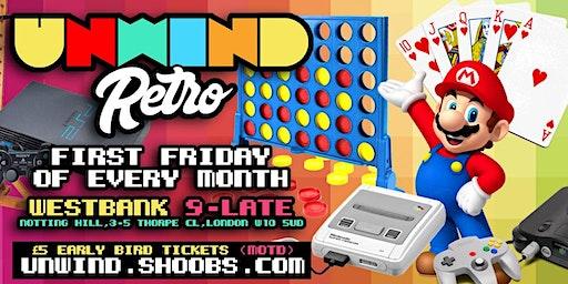 Unwind Retro - Retro Games Night