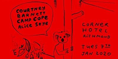 COURTNEY BARNETT + CAMP COPE (Bushfire Fundraiser)