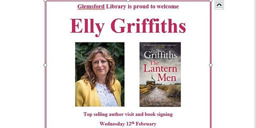 Elly Griffiths - Bestselling Author talk and book signing