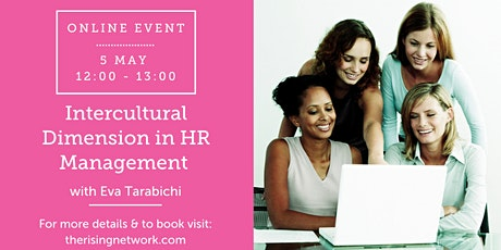 ONLINE EVENT: Intercultural Dimension in HR Management tickets