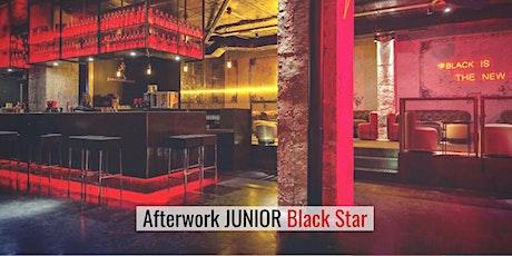 Afterwork SINGLE con picoteo en Black Star (hasta 49) entradas