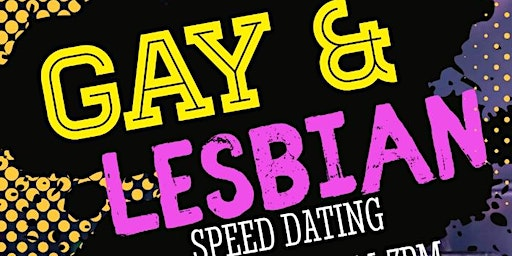 GAY AND LESBIAN SPEED DATING