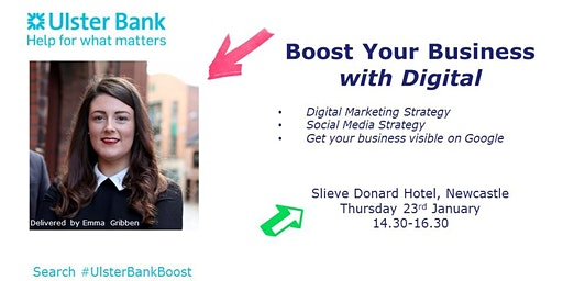Boost Your Business with Digital by Emma -  #UlsterBankBoost