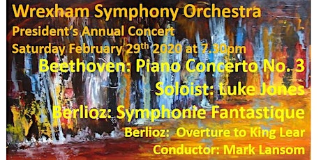 President's Annual Concert with the Wrexham Symphony Orchestra tickets