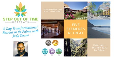 Step Out Of Time: 5 Elements Transformational Retreat entradas