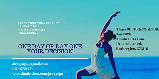 4 Week Beginners Yoga Course