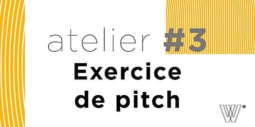 Les défis de l'entrepreneur par M. Wildhaber  N°3 : l'exercice du pitch