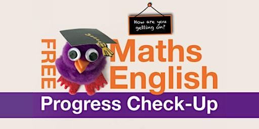 Free Maths and English Progress Check-Up