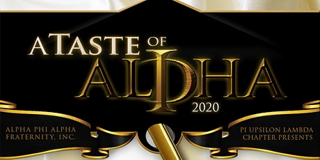 A Taste of Alpha  2020 tickets