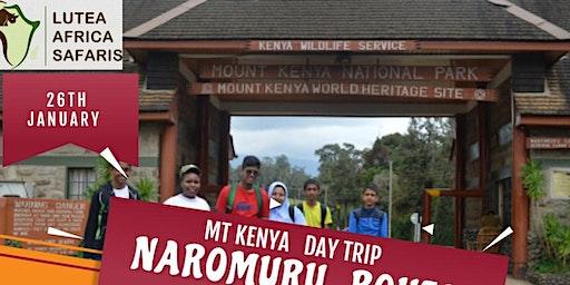 MT KENYA  DAY HIKE NARUMORU ROUTE