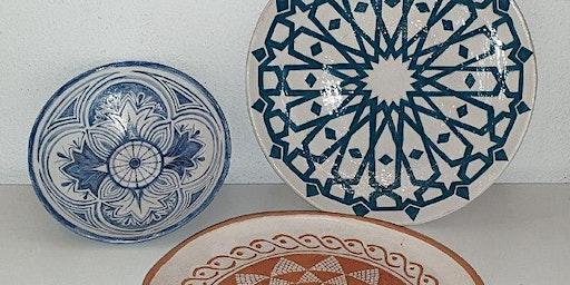 Corso di ceramica, engobbio - ciotola