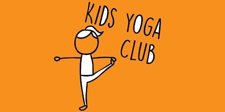 Kids Yoga Club: 3-7yrs with Kelly Ann Winter term 8th Jan - 12th Feb tickets