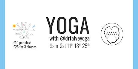 Green House Yoga with @drfalveyoga tickets