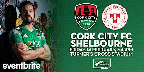 Cork City v Shelbourne tickets