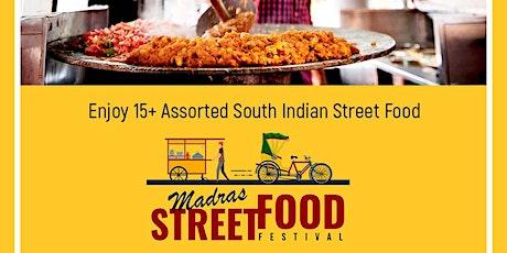 Madras Street Food Festival tickets