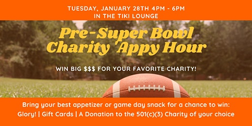 Pre-Super Bowl Charity Appy-Hour
