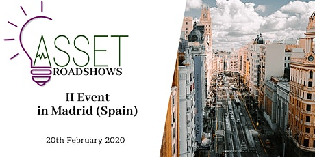 ASSET Roadshow en España (Madrid) tickets