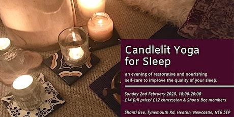 Candlelit Yoga for Sleep tickets
