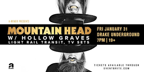 Mountain Head w/ Hollow Graves, Light Rail Transit, & TV Sets tickets