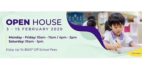 Mulberry Learning Open House - Preschool Centre tickets