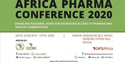 AUDA-NEPAD and DFS AFRICA PHARMA CONFERENCE 2020