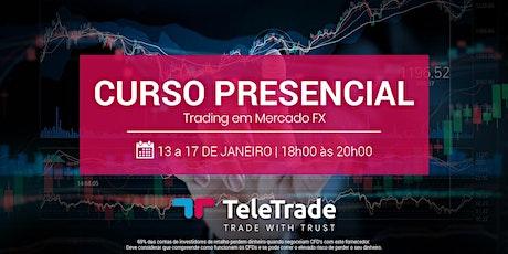 Curso Trading em Mercado FX bilhetes