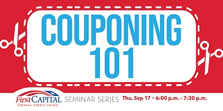 2020 Seminar Series - Couponing 101 tickets