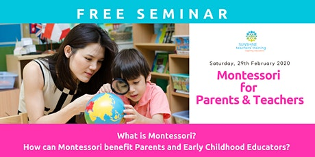Montessori For Parents & Teachers tickets