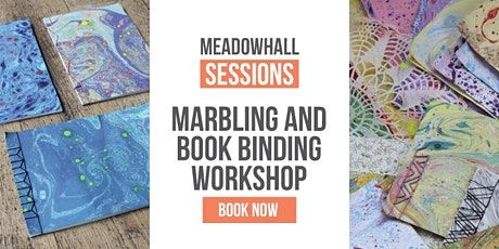 Marbling & Book Binding Workshop - Meadowhall Sessions tickets