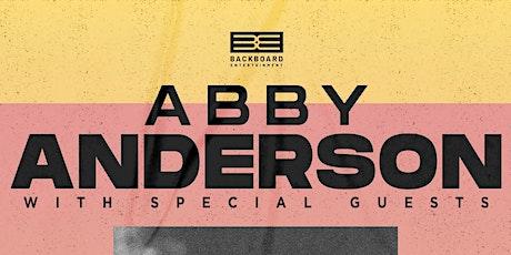 Abby Anderson, Jordan James, Ian Mcconnell tickets
