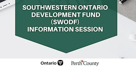 Southwestern Ontario Development Fund (SWODF) Info Session tickets