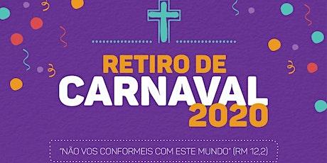 Retiro de Carnaval 2020 - Barrinha/SP ingressos