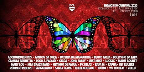 Ensaio do Carnaval 2020 : La MetAMORfose Carnavalizante - 19/01 ingressos