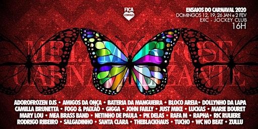 Ensaio do Carnaval 2020 : La MetAMORfose Carnavalizante - 19/01
