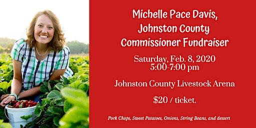 Michelle Pace Davis, Johnston County Commissioner Fundraiser