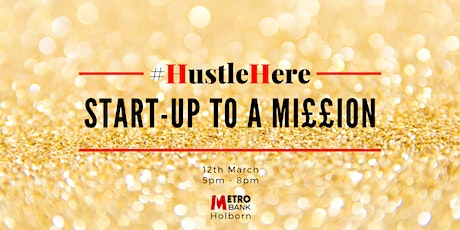 #HustleHere - Start-up To A Million tickets