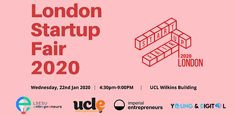 London Startup Fair 2020 tickets