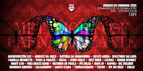 Ensaio do Carnaval 2020 : La MetAMORfose Carnavalizante - 26/01 ingressos