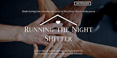 TLC Running the Night Shelter tickets