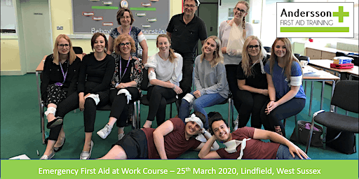 Emergency First Aid at Work - 25th March Lindfield