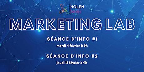 Séances d'information — MolenGeek Marketing Lab III biglietti