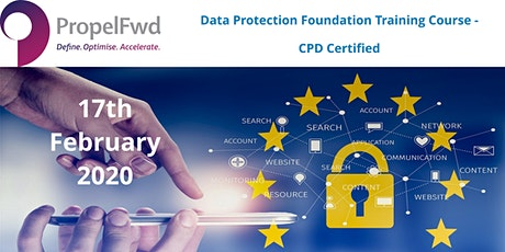 Data Protection (GDPR) foundation course - CPD certified tickets