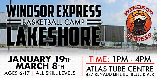 Windsor Express Youth Basketball Camp- Lakeshore