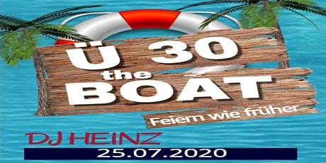 Ü30 Bootsparty Tickets