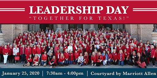Together for Texas! Leadership Day 2020