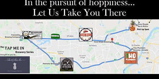 Headed Out West: Route #1 of the Tap Me In Brewery Series