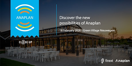 Anaplan Close Up! tickets