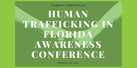 Human Trafficking in Florida Conference tickets