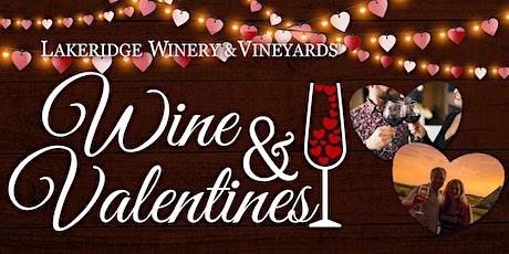 Wine & Valentines tickets