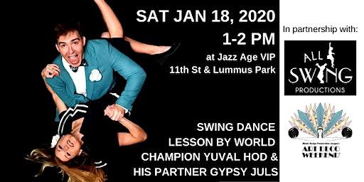 Swing Dance Lesson @ Art Deco Weekend 2020